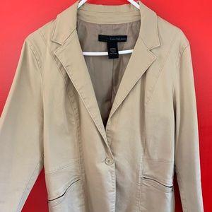 Calvin Klein Khaki Jean jacket